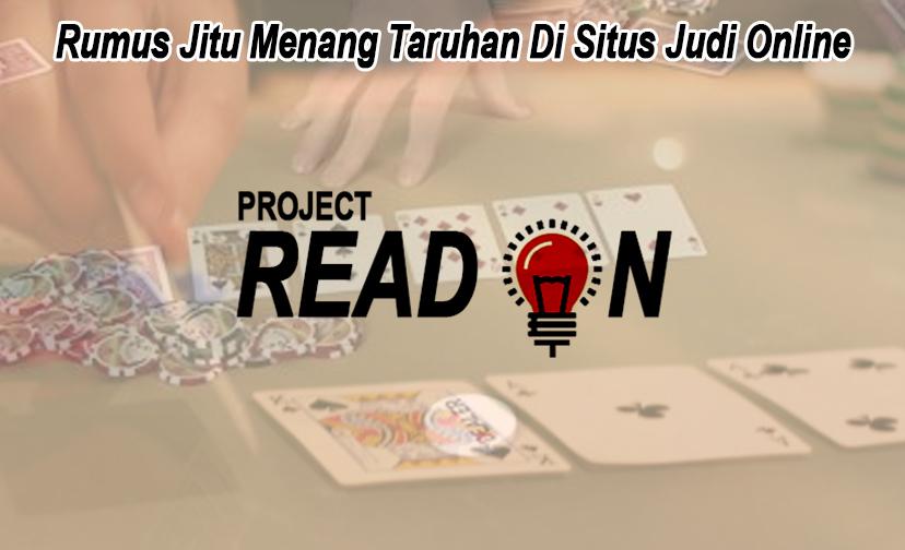 Situs Judi Online Rumus Jitu Menang Taruhan - Projectreadon
